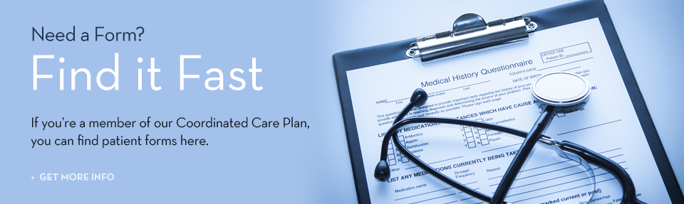 Coordinated Care Plan Forms